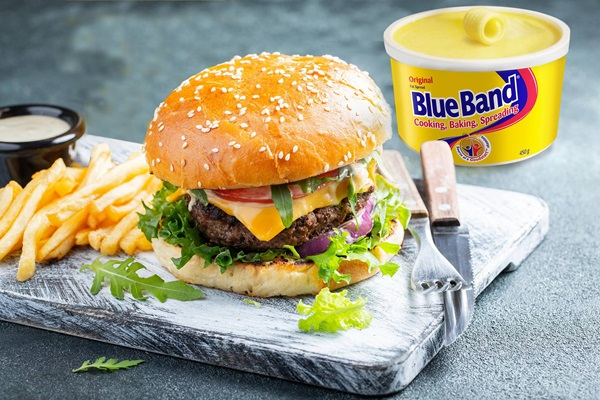 recipe image Blue Band Beef Burger