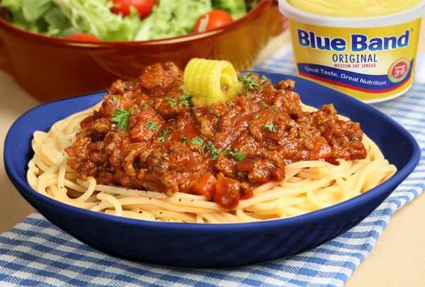 recipe image Spaghetti With Spicy Minced Meat