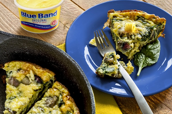 recipe image Mushroom And Spinach Omelette