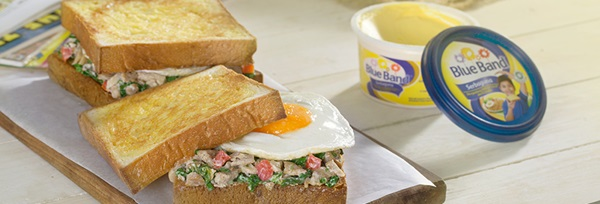recipe image Sandwich Tuna Bayam