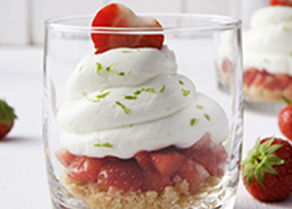 recipe image Cheesecake in een glas