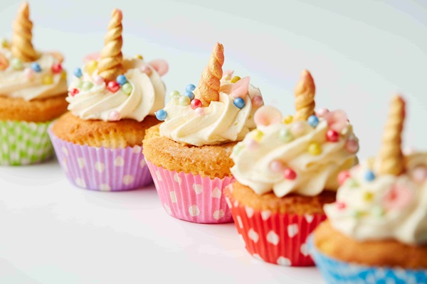 recipe image Unicorn cupcake